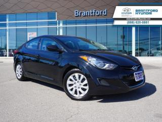 Used 2013 Hyundai Elantra 1 OWNER   HEATED SEATS   WINTER TIRES  - $86 B/W for sale in Brantford, ON