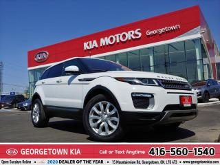 Used 2017 Land Rover Evoque SE | LEATHER | NAVI | ROOF| BU CAM | 38K KMS | BT for sale in Georgetown, ON
