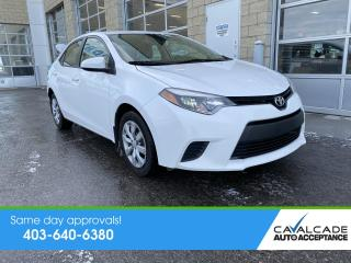 Used 2014 Toyota Corolla LE for sale in Calgary, AB