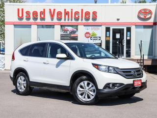 Used 2014 Honda CR-V EX AWD ALLOYS SUNROOF HEAT-SEATS BLUETOOTH for sale in North York, ON