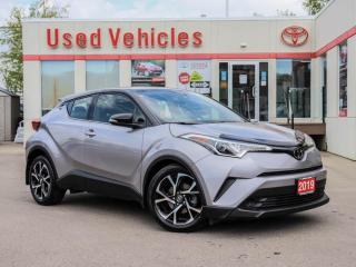 Used 2019 Toyota C-HR LIMITED ALLOYS LEATHER BLIND-SPOT DUAL COLOR for sale in North York, ON