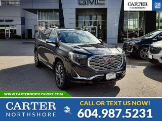 New 2020 GMC Terrain Denali NAVIGATION - LEATHER - WIRELESS CHARGING - HEATED PWR SEATS for sale in North Vancouver, BC