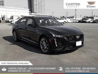 New 2020 Cadillac CTS V-Series AWD - Blind Spot Sensor - Power Moonroof - XM Radio for sale in Burnaby, BC