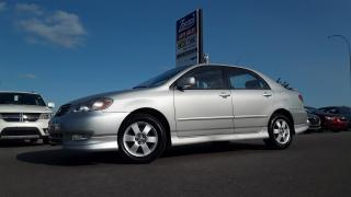 Used 2003 Toyota Corolla Sport for sale in Brandon, MB