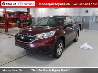 Used 2016 Honda CR-V LX AWD for sale in Moose Jaw, SK