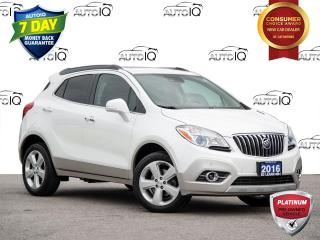 Used 2016 Buick Encore Premium Leather | Sunroof | Advance Safety for sale in St Catharines, ON