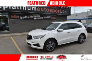Used 2018 Acura MDX Elite Package NO ACCIDENTS!! TV FOR THE KIDS!! EVERY OPTION YOU COULD WANT!! for sale in Saskatoon, SK