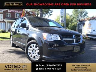 Used 2017 Dodge Grand Caravan CVP/SXT SXT premium / DVD for sale in London, ON