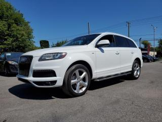 Used 2011 Audi Q7 S-LINE *NAV*CAMERA*DVD*1 OWNER*QUATTRO* for sale in St-Jérôme, QC