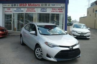 Used 2018 Toyota Corolla LE  ACCIDENT FREE for sale in Toronto, ON