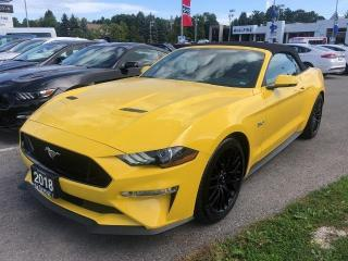 Used 2018 Ford Mustang GT Premium for sale in Aurora, ON