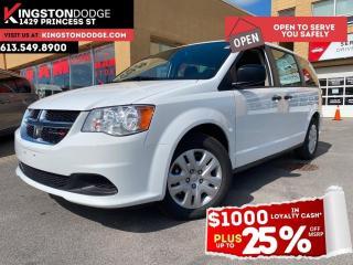 New 2020 Dodge Grand Caravan Canada Value Package | Power Locks & Windows | for sale in Kingston, ON