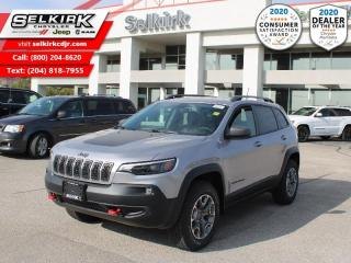 New 2020 Jeep Cherokee Trailhawk - Heated Seats for sale in Selkirk, MB
