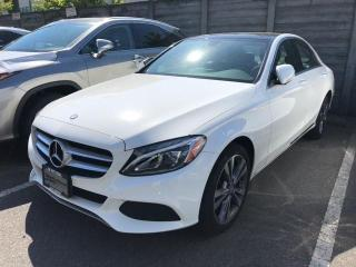 Used 2017 Mercedes-Benz C 300 4matic Sedan / Premium 1 PKG, NAV, LOW KM for sale in North Vancouver, BC