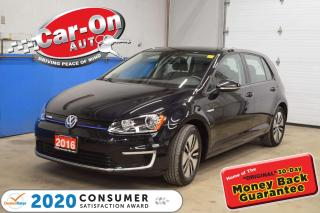 Used 2016 Volkswagen Golf e-Golf ELECTRIC SHOWROOM COND for sale in Ottawa, ON