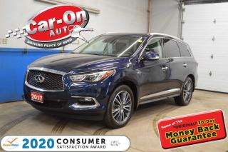 Used 2017 Infiniti QX60 TECH PKG, DUAL DVD, NAVIGATION LOADED !!! for sale in Ottawa, ON