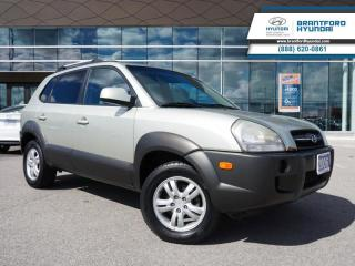 Used 2006 Hyundai Tucson 1 OWNER | LOW KM | V6 ENGINE  - $243 B/W for sale in Brantford, ON
