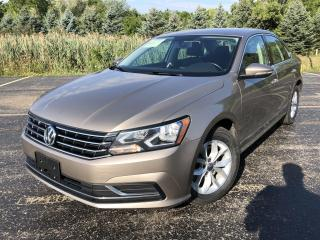 Used 2017 Volkswagen Passat Trendline 2WD for sale in Cayuga, ON