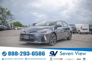 Used 2017 Toyota Corolla SE SUNROOF/ALUMINUM WHEELS/REAR CAMERA for sale in Concord, ON