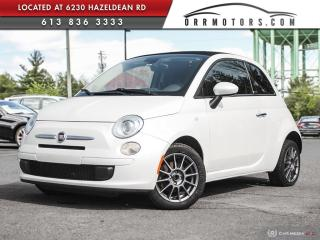 Used 2016 Fiat 500 C Pop CONVERTIBLE!  | BLUETOOTH | CRUISE ETC! for sale in Stittsville, ON