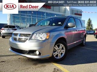 Used 2019 Dodge Grand Caravan Crew Plus for sale in Red Deer, AB