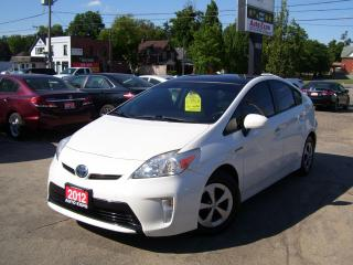 Used 2012 Toyota Prius HYBRID,NAVI,BLUETOOTH,LEATHER,SUNROOF,CERTIFIED for sale in Kitchener, ON