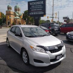 Used 2013 Toyota Matrix L for sale in Windsor, ON