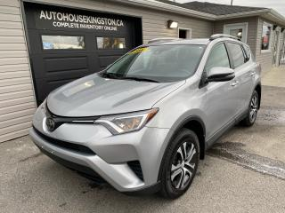 Used 2017 Toyota RAV4 LE for sale in Kingston, ON
