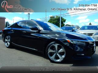 Used 2018 Honda Accord Touring.Navi.Cam.HeadsUpDisplay.FullyLoaded for sale in Kitchener, ON