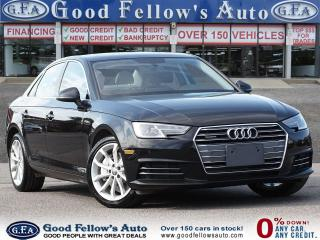 Used 2017 Audi A4 PROGRESSIVE, AWD, PARKING ASSIST FRONT & REAR, NAV for sale in Toronto, ON