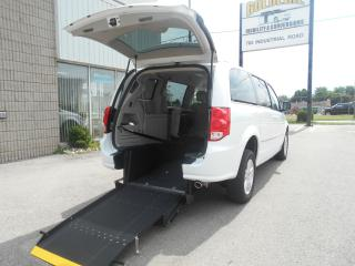 Used 2016 Dodge Grand Caravan Crew Plus-Wheelchair Accessible Rear Entry-Manual for sale in London, ON