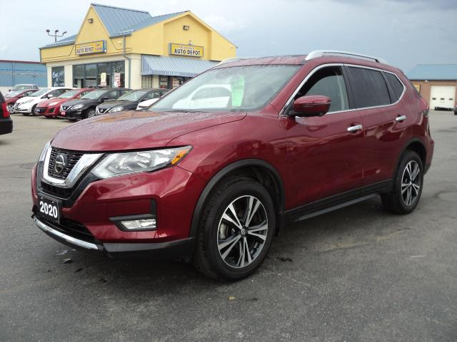 2020 Nissan Rogue SV 2.5L AWD Nav Roof BackCam HeatedSeatsLaneAssist