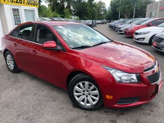 Used 2011 Chevrolet Cruze LT/ TURBO/ AUTO/ PWR GROUP/ CRUISE CTRL/ AC ++ for sale in Scarborough, ON