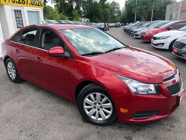 2011 Chevrolet Cruze LT/ TURBO/ AUTO/ PWR GROUP/ CRUISE CTRL/ AC ++