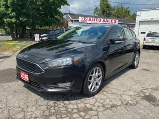 Used 2015 Ford Focus SE/Automatic/Backup Camera/Comes Certified for sale in Scarborough, ON