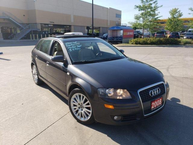 2008 Audi A3 Double Sunroof, Auto, Leather, 3/Y Warranty Availa
