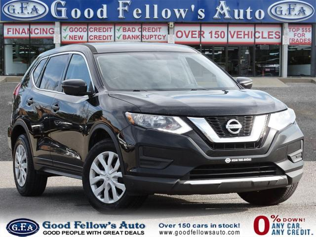 2017 Nissan Rogue S MODEL, AWD, HEATED SEAT, REAR VIEW CAMERA