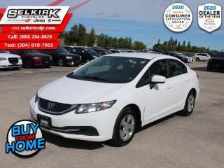 Used 2014 Honda Civic Sedan LX - Bluetooth -  Heated Seats for sale in Selkirk, MB