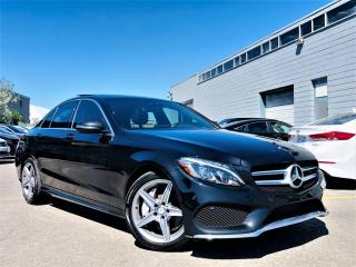 Used 2017 Mercedes-Benz C 300 |4MATIC|PANORAMIC|HEATED MEMORY SEATS|NAVI|REAR VIEW CAM| for sale in Brampton, ON