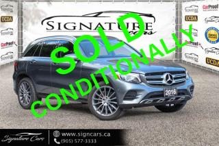 Used 2016 Mercedes-Benz GLC 300 4MATIC GLC300 4MATIC. AMG PKG. NO ACCIDENT. CLEAN CARFAX. for sale in Mississauga, ON