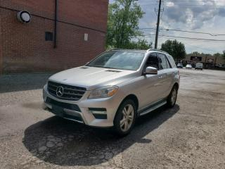 Used 2012 Mercedes-Benz ML-Class 4MATIC| BlueTEC|WARRANTY|CERTIFIED for sale in Richmond Hill, ON