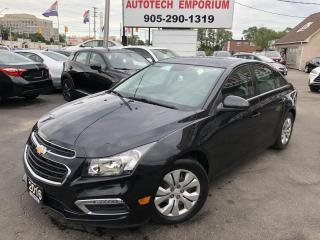 Used 2016 Chevrolet Cruze LT Limited Camera/All Power/Bluetooth&ABS* for sale in Mississauga, ON