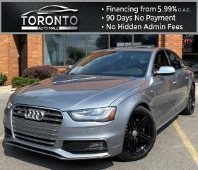 Used 2015 Audi S4 Premium Plus quattro 7A NAVI Blind Spot Sunroof Tecknik One Owner No Accident for sale in North York, ON