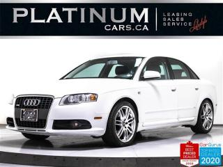 Used 2008 Audi A4 2.0T quattro S-Line, SUNROOF, AWD, LEATHER, AUTO for sale in Toronto, ON