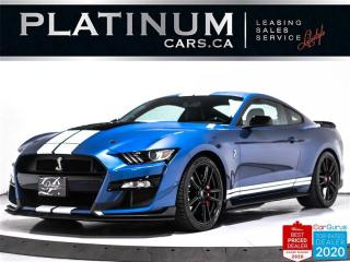 Used 2020 Ford Mustang Shelby GT500, 760HP 5.2L V8, DCT, TECH PKG, NAV for sale in Toronto, ON