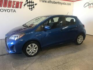 Used 2015 Toyota Yaris 5DR HB MAN LE for sale in St-Hubert, QC