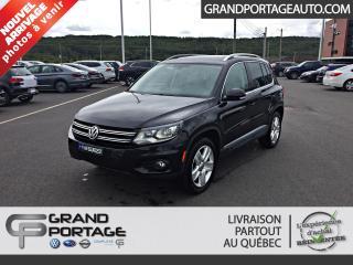 Used 2016 Volkswagen Tiguan Comfortline 4 portes 4MOTION BA for sale in Rivière-Du-Loup, QC
