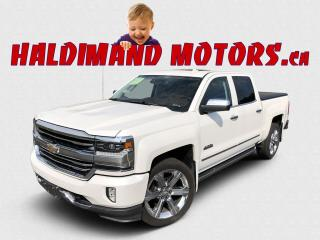 Used 2016 Chevrolet Silverado 1500 High Country Crew 4X4 for sale in Cayuga, ON