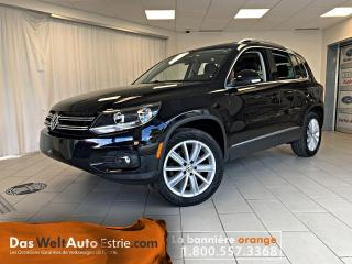 Used 2016 Volkswagen Tiguan Highline 4Motion, Cuir, Toit, Automatique for sale in Sherbrooke, QC