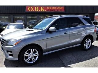 Used 2012 Mercedes-Benz ML-Class 4MATIC-ML350 BlueTEC-NAVIGATION-CAM RECUL-TOIT for sale in Laval, QC